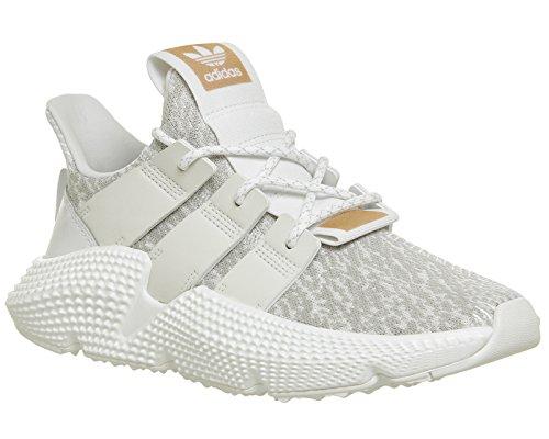 Adidas Originals Kvinna Prophere Vitt Och Grått Sneaker Vit