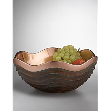 Nambe Copper Canyon 16-Ounce Bowl, 6-Inch by 2-3/4-Inch