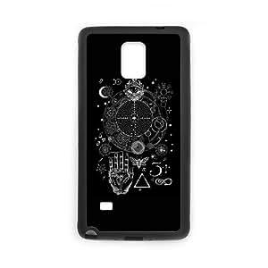 Samsung Galaxy Note 4 Cell Phone Case Black Magic Symbols for an Alchemist Dreamer 1 custom phone cover ggjc7244307