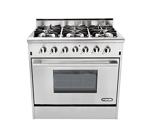 36 stainless steel gas range - 2