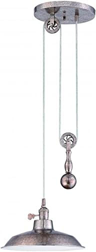 Craftmade P400-TS 1 Light Pulley Pendant