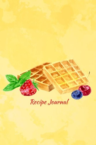 - Recipe Journal: Viennese Wafers with Berries and Mint Cooking Journal, Lined and Numbered Blank Cookbook 6 x 9, 150 Pages (Recipe Journals) (Cooking Journals)