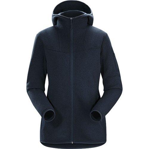 Arcteryx Fleece Jacket (Arc'teryx Covert Hooded Fleece Jacket - Women's Black Sapphire, M)