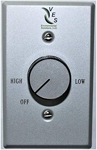 Ves Ventilador de techo Soporte de pared Control, 2,5 AMP o hasta ...