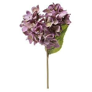 Red Co. Fabulous Soft Purple Hydrangea, Decorative Faux Flowers, Artificial Floral Arrangements, Home and Garden Décor, 10-inch 38