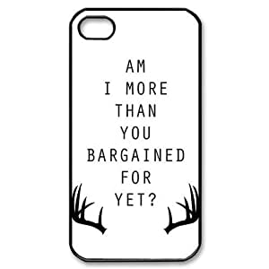 Custom Your Own Personalised Band Fall Out Boy iPhone 4/4S Best Durable Case Cover