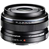 Olympus M.ZUIKO DIGITAL 17mm 1:1.8 Lens - Black