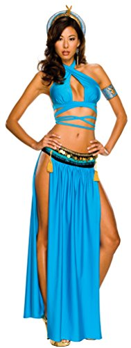 Secret Wishes Playboy Sexy Cleopatra Costume, Blue,