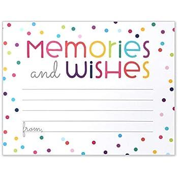 Amazon.com: Memories and Wishes – Tarjeta de felicitación de ...