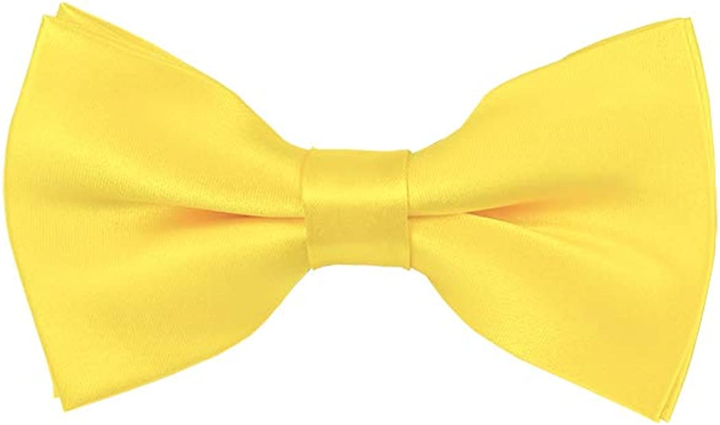 Solid Palm Coast Coral Kids Pre-Tied Bow Tie
