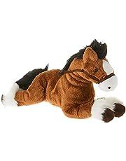 """Gund G4060748 Fanning Palomino Laying Down Horse Plush Toy, 12"""", Brown"""