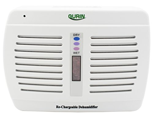Gurin DHMD-110 Renewable Wireless Dehumidifier, Mini