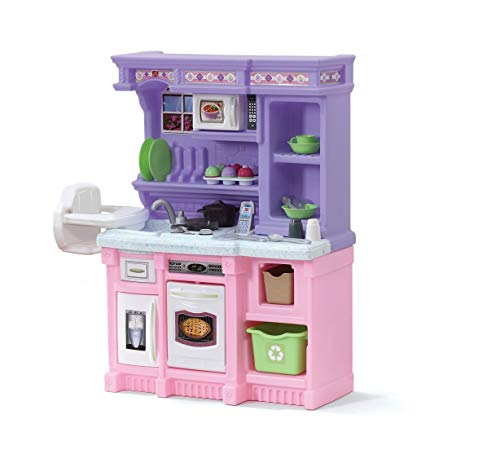 Step2 Little Bakers Kitchen Playset (Deluxe Pack: Includes Toys & Accessories)