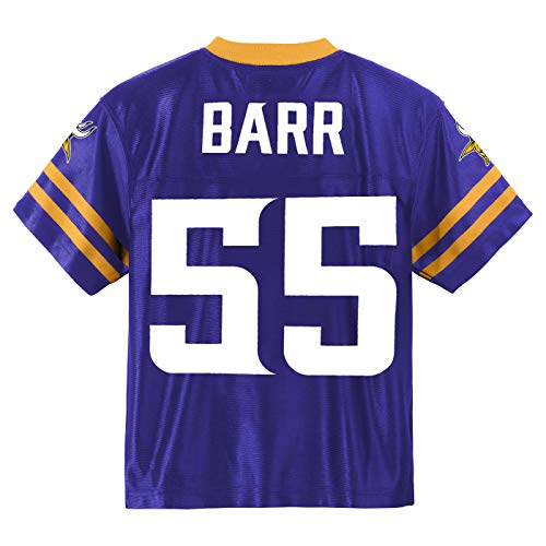 Outerstuff Anthony Barr Minnesota Vikings #55 Purple Youth Home Player Jersey (X-Large 18/20)