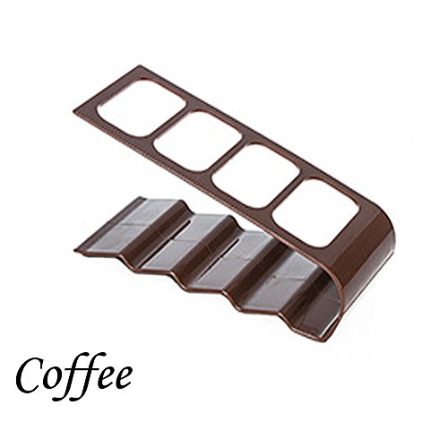 [Coffee] Top DVD TV Remote Control CellPhone Stand Holder Storage Caddy Organiser Tools