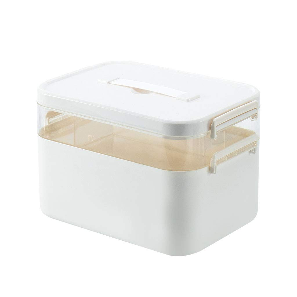 Medicine box Household Portable First Aid Multi-Layer Storage Box Children Large Capacity Layering HUXIUPING