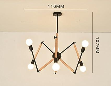 Lampchou deckenleuchten nordic einfache moderne wohnzimmer lampe