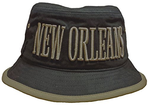 New Orleans Hat Black and Gold Outdoors Indoors