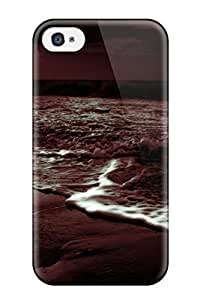 Awesome Beach Earth Nature Beach Flip Case With Fashion Design For Iphone 4/4s