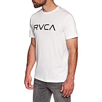 RVCA Big Vintage Short Sleeve T-Shirt Small Antique White