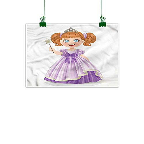 tickers for Wall Princess Hand Painted Little Girl Dress Tiara 16