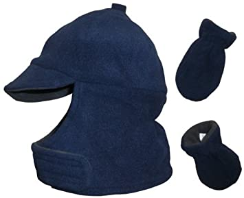 c912b193fbae2 Amazon.com   N ice Caps Boys Wrap Around Fleece Jockey Hat and ...