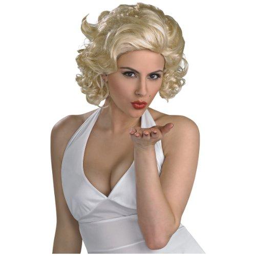 Deluxe Marilyn Costumes (Marilyn Monroe Deluxe Wig (Adult))