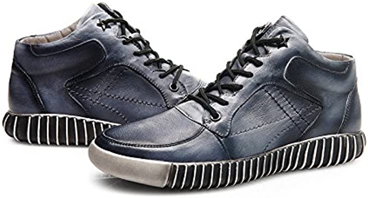 jepsen Blue and Grey Winter Mens Shoes