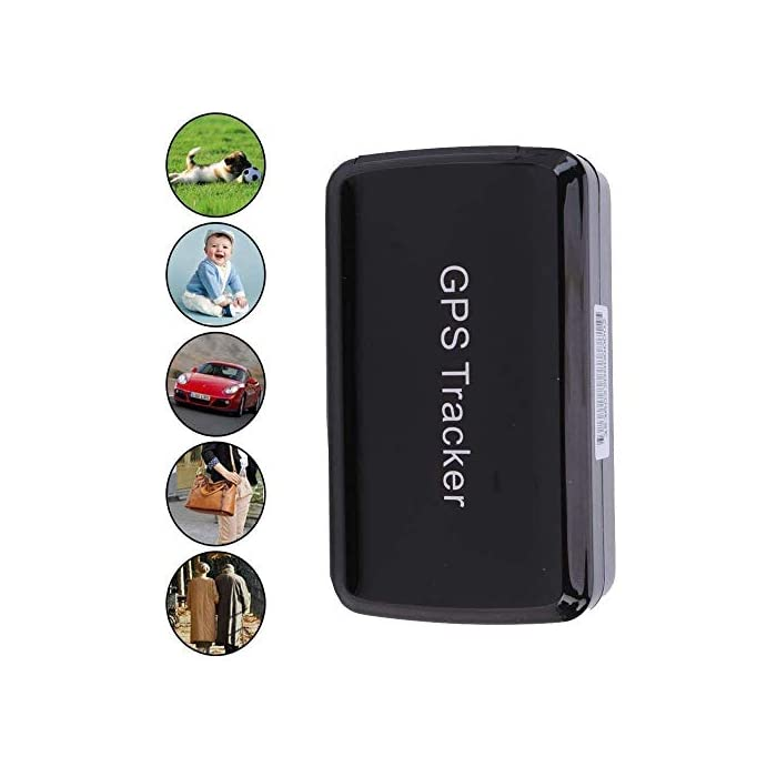 Mini GPS Smart Tracker Support Website & Phone App-long battery life and  Rechargeable,Powerful Magnet and Waterproof-Real Time GPS/GSM/GPRS Car