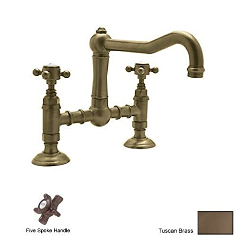Amazon Com Rohl A1459xtcb 2 Country Kitchen Deck Mounted Bridge