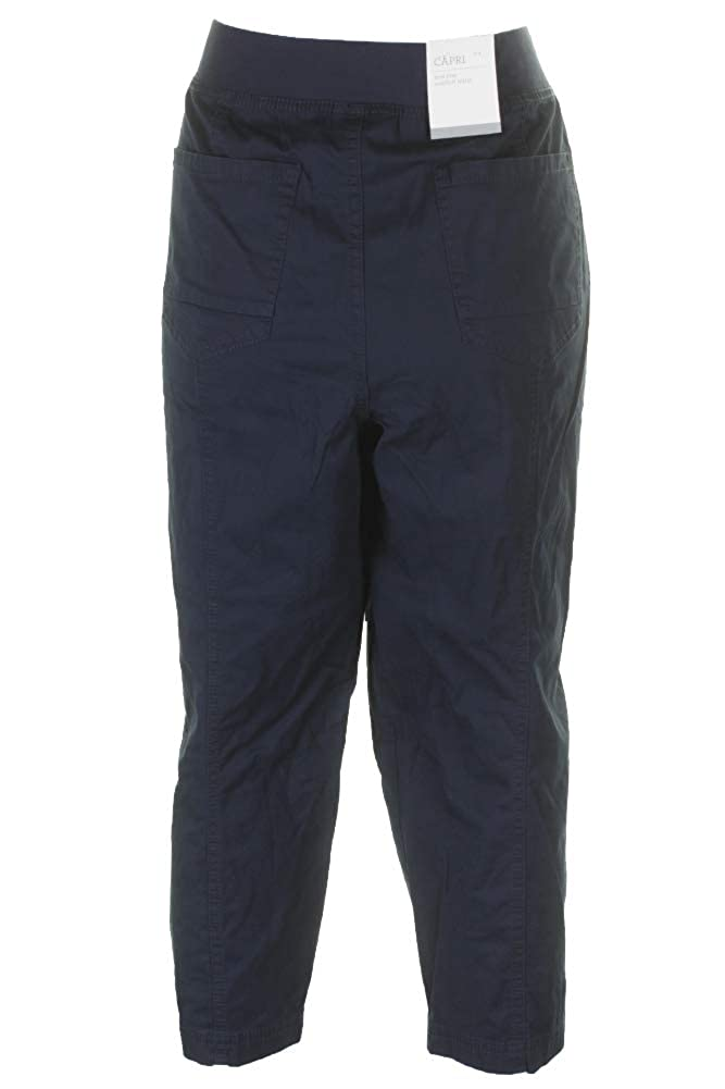 Style/&Co Ruched Capri Pants