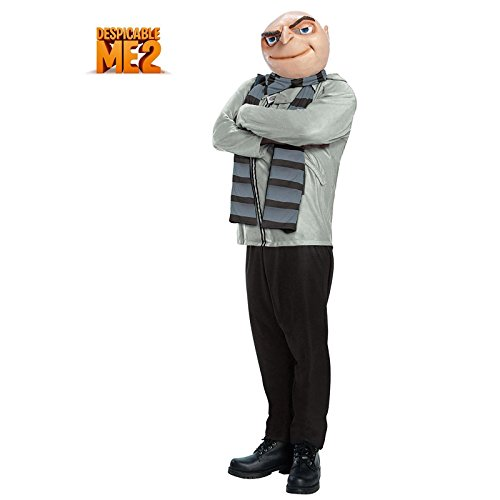 Rubie's Costume Men's Despicable Me 2 Size Gru Costume, Multi-Colored, Plus