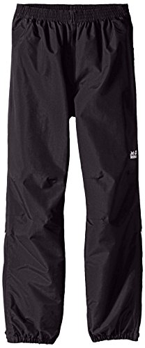 Jack Wolfskin Iceland Texapore 3-in-1 Kids Pants, 128 (7-8 Years Old), Dark Steel by Jack Wolfskin
