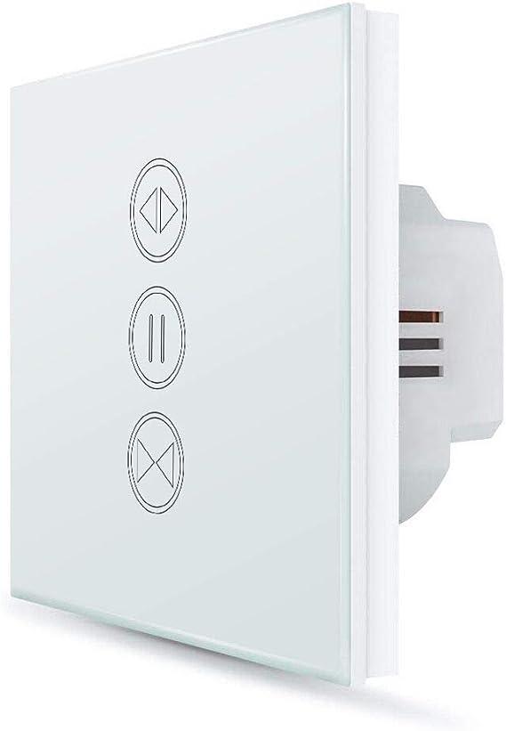 Verre écran Tactile-rolladenschalter//store store interrupteur en blanc