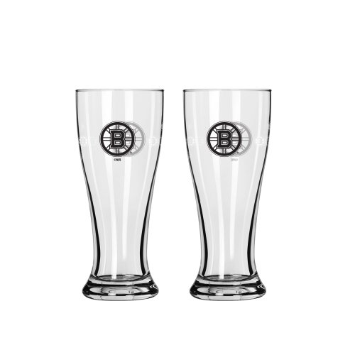 NHL Boston Bruins Mini Pilsner, 2.5-ounce, - Bruins Glass