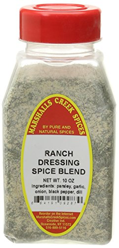 - Marshalls Creek Spices Ranch Dressing Spice Blend with No Salt, 10 Ounce