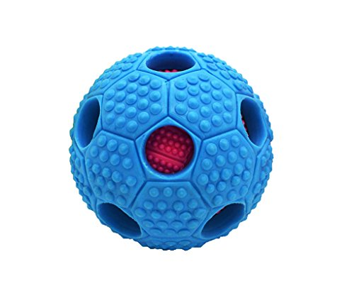 Tennis Tail Raccoon (Bonpet Squeaker Ball Dog Toy, Interactive Dog Chew Toys,Biting for Medium or Large Dog toys)