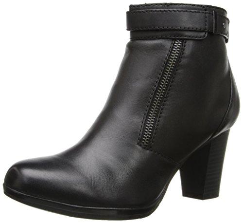Clarks Womens Kalea Gillian Boot Black Leather BIFzE3bm