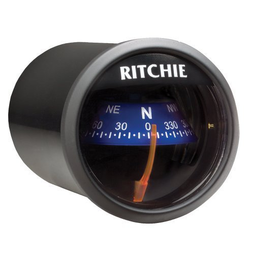 1 - Ritchie X-21BU RitchieSport Compass - Dash Mount - Black/Blue (Compass Dash Mount)