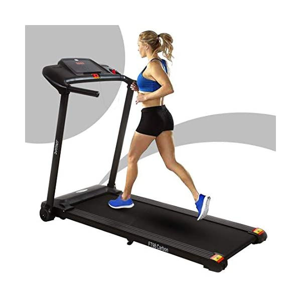 fitkit ft98 carbon motorized treadmil