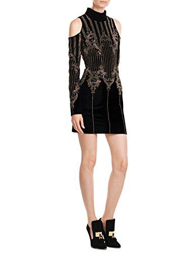 Silk Velvet Party Dress - 1