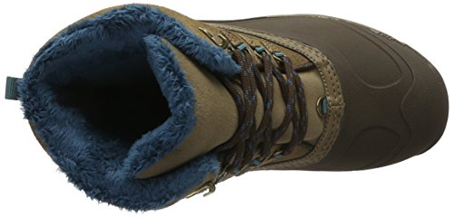 The North Face W Chilkat Iii, Botas de Senderismo para Mujer Marrón / Verde