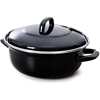 Bk Fortalit Steel Dutch Oven, 2.5QT, Black