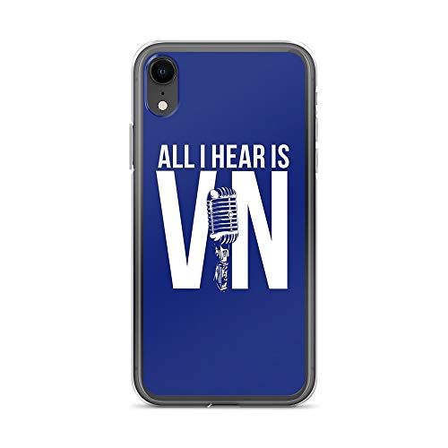 iPhone XR Pure Clear Case Cases Cover Vin Scully
