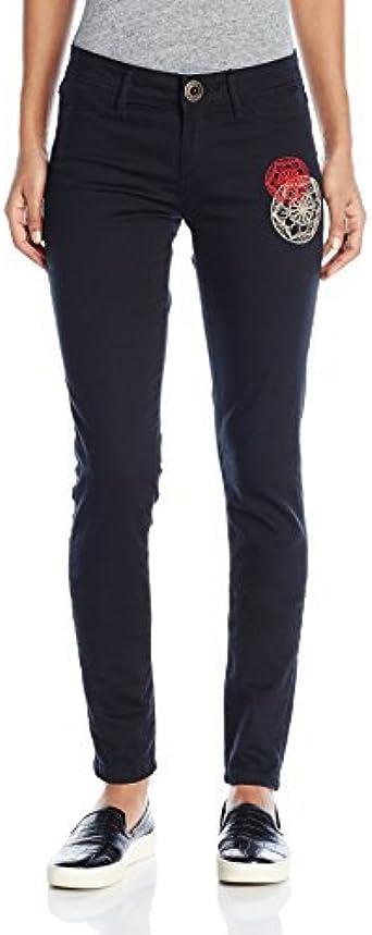 Desigual Karlie2 Pantalones Negro Negro 24 W Para Mujer Amazon Es Ropa Y Accesorios