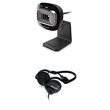 Microsoft LifeCam HD-3000 - Webcam HD 720p T3H-00013 casque video conférénce