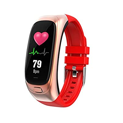 GoYisi Smart Wristbands CES12 0 96 inch IPS Color Screen Smartwatch IP67 Waterproof Support Call Reminder Heart Rate Monitoring Blood Pressure Monitoring Sleep Monitoring Blood Oxygen Monitoring USB Estimated Price -