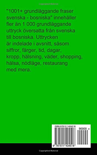 bosniska till svenska