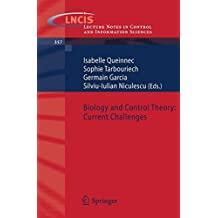 Biology and Control Theory: Current Challenges