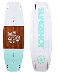 A women's board for girls with commitment issues. One day she loves cable, the next day she loves boat. Then suddenly the winch is tickling her fancy. For all these types, the Contrast is the answer.BENEFIT: Stiff enough for explosive pop on ...